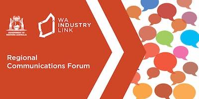 Regional Communication Forum - Bunbury