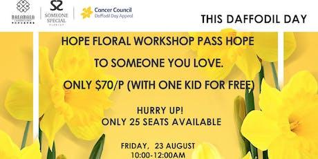 Hope Floral Workshop tickets