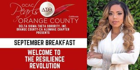 OCAC (CA) DST September Breakfast tickets