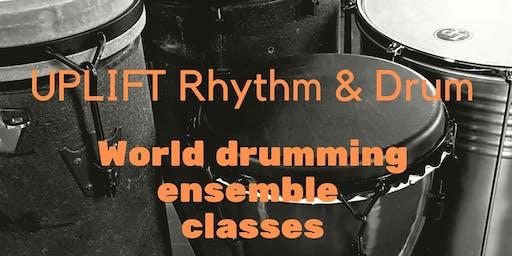 UPLIFT Rhythm and Drum - World music drumming classes