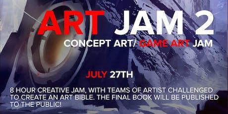 Pens & Pixels Art Jam 2 tickets