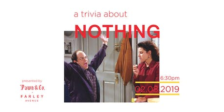 a trivia about nothing tickets