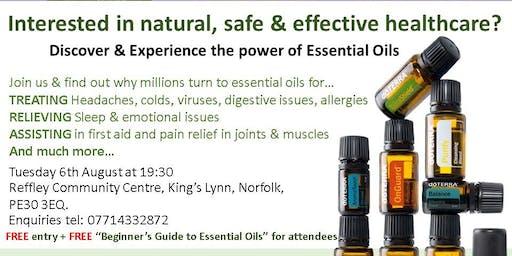 Essential Oil Class