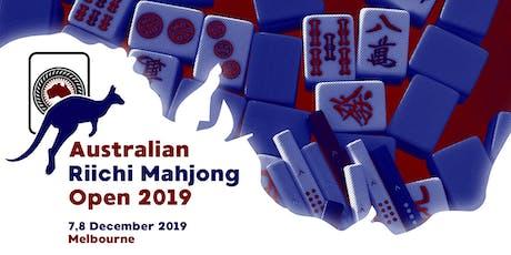 Australian Riichi Mahjong Open 2019 tickets