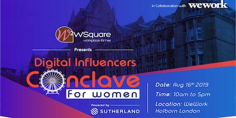 Digital Influencers Conclave for Women tickets