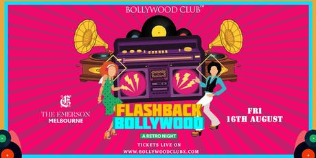 Flashback Bollywood @The Emerson tickets