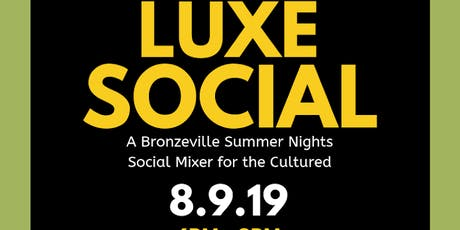 The Luxe Social tickets