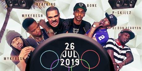 Twerkalympics feat. Beat King, K Stylis, Bones and Myk Fresh tickets