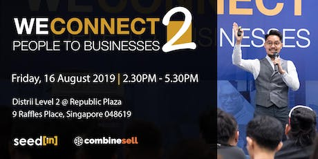 WeConnect - People to Businesses 2 // e-Commerce, Biz Finance, Crowdfunding tickets
