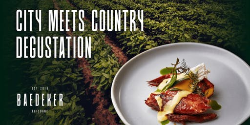 City Meets Country Degustation