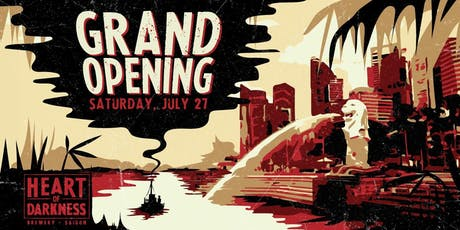Heart of Darkness Singapore - Grand Opening Free-flow Party tickets
