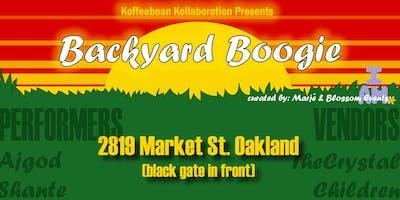 Koffeebean Kolaboration Presents Backyard Boogie