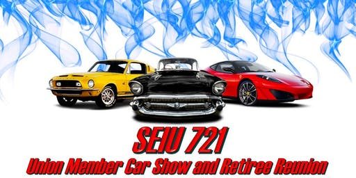 SEIU 721 Member Car Show and Retiree Reunion