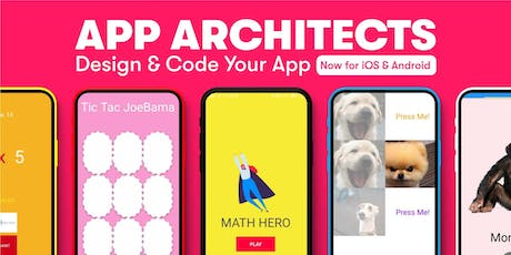 App Architects: Design & Code Your App, [Ages 11-14], 21 Oct - 25 Oct Holiday Camp (9:30AM) @ East Coast tickets