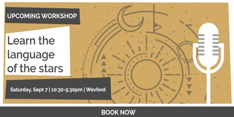 Learn the Language of the Stars, 1 Day Vedic Astrology Workshop tickets