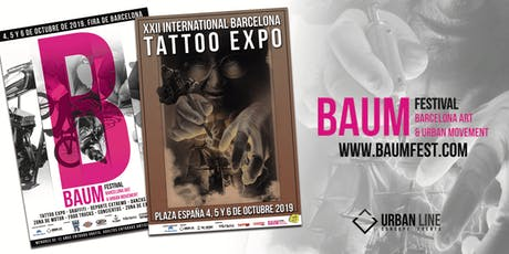 BAUM Festival-Barcelona Tattoo Expo 2019 tickets