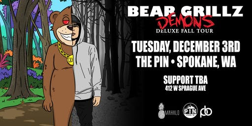 Bear Grillz at The Pin