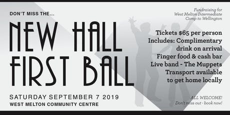 New Hall | First Ball | WMS Fundraiser tickets