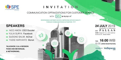 Communication Optimizations for Customer Services with WAPPIN tickets