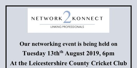 Network 2 Konnect 13 August 2019 tickets
