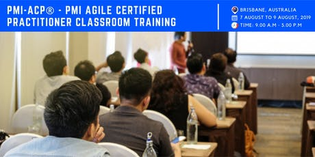 PMI ACP Training | Exam | Brisbane | August | 2019 tickets