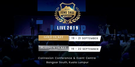 Joey Yap's Feng Shui Academy Live 2019 tickets