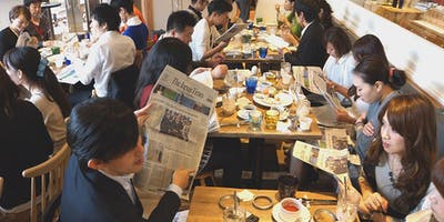 The Morning English Seminar @120 WORKPLACE KOBE ~ Let's discuss a news article of The Japan Times (7)