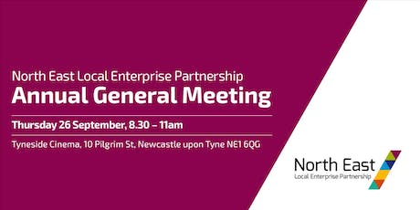 North East Local Enterprise Partnership Annual General Meeting tickets