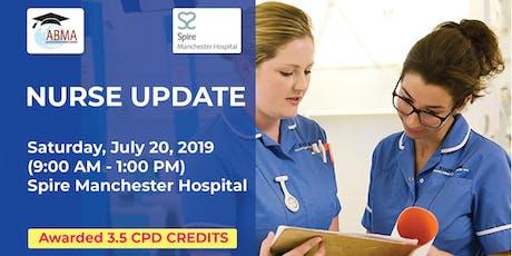 Nurse Update tickets
