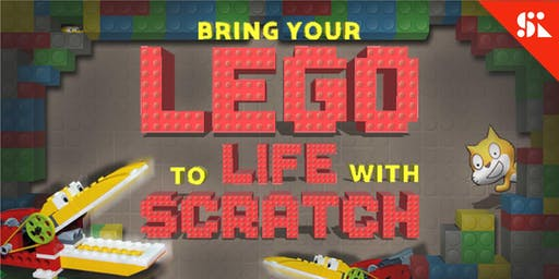 Bring Your Lego to Life with Code, [Ages 7-10], 14 Oct - 18 Oct Holiday Camp (9:30AM) @ Bukit Timah