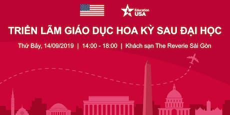 TRIỂN LÃM GIÁO DỤC HOA KỲ SAU ĐẠI HỌC 2019 tickets