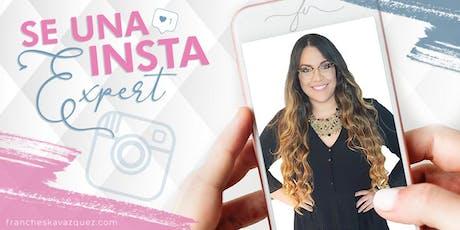 Se una INSTA Expert: Workshop de Instagram tickets