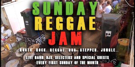 Sunday Reggae Jam // Live Music & DJs // GROW tickets