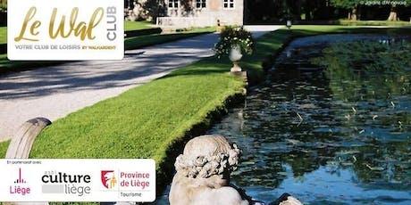 Visite des jardins d'Annevoie & de l'Abbaye de Maredsous- Préinscription  billets
