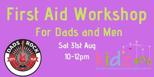 First Aid for Dads and Men