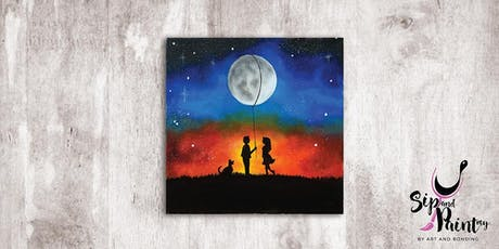 Sip & Paint MY @ SOULed OUT Ampang : Moon Balloon tickets