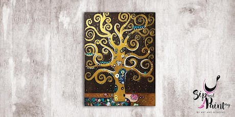 Sip & Paint MY @ SOULed OUT Ampang : Klimt's Tree of Life tickets