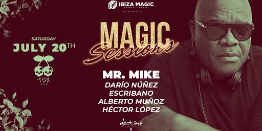 Destino Pacha - Magic Sessions - MR.Mike