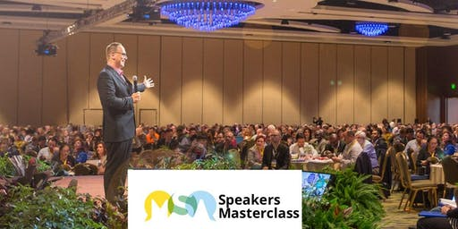 Speakers Master Class - 3 Day event - Malmesbury