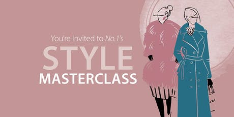 No.1's Style Masterclass: Glasgow tickets