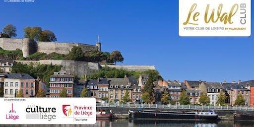 Visite de la Citadelle de Namur - Préinscription