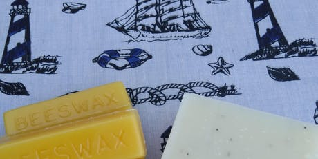 Packaging Not Included Workshop - Make Your Own Beeswax Wrap and Soap tickets