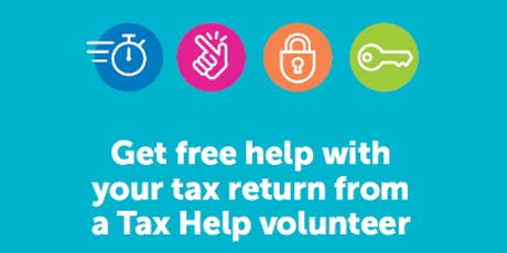 Tax Help Program - Greg Percival Library tickets