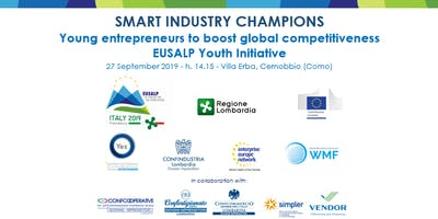 SMART INDUSTRY CHAMPIONS Young entrepreneurs to boost global competitivenes
