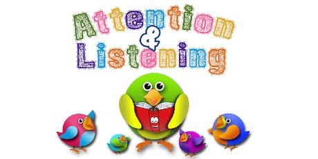 Attention & Listening Pre-school: Dundee tickets