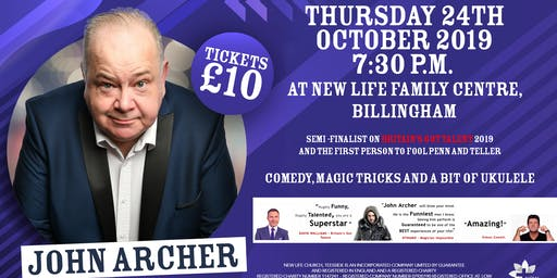 John Archer - LIVE at New Life Family Centre