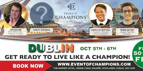 Event of Champions® Dublin tickets