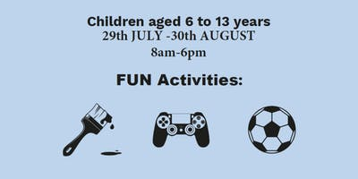 Summer Holiday Scheme - Summercamps in Wembley