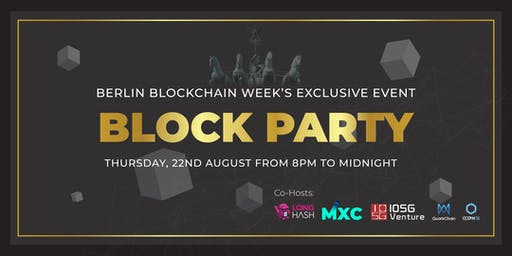 Block Party - Berlin Blockchain Week
