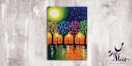 Sip & Paint MY @ EGG Sunway: Colourful Garden tickets